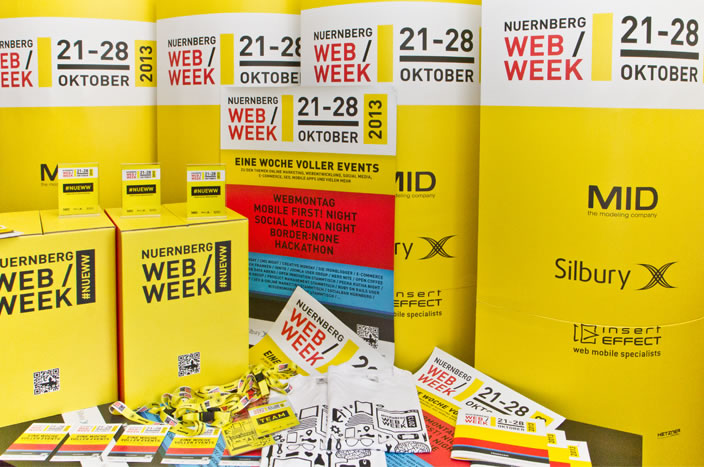 Being the technical partner of the Nürnberg Web Week 2013 has been the largest non-profit project we ever did