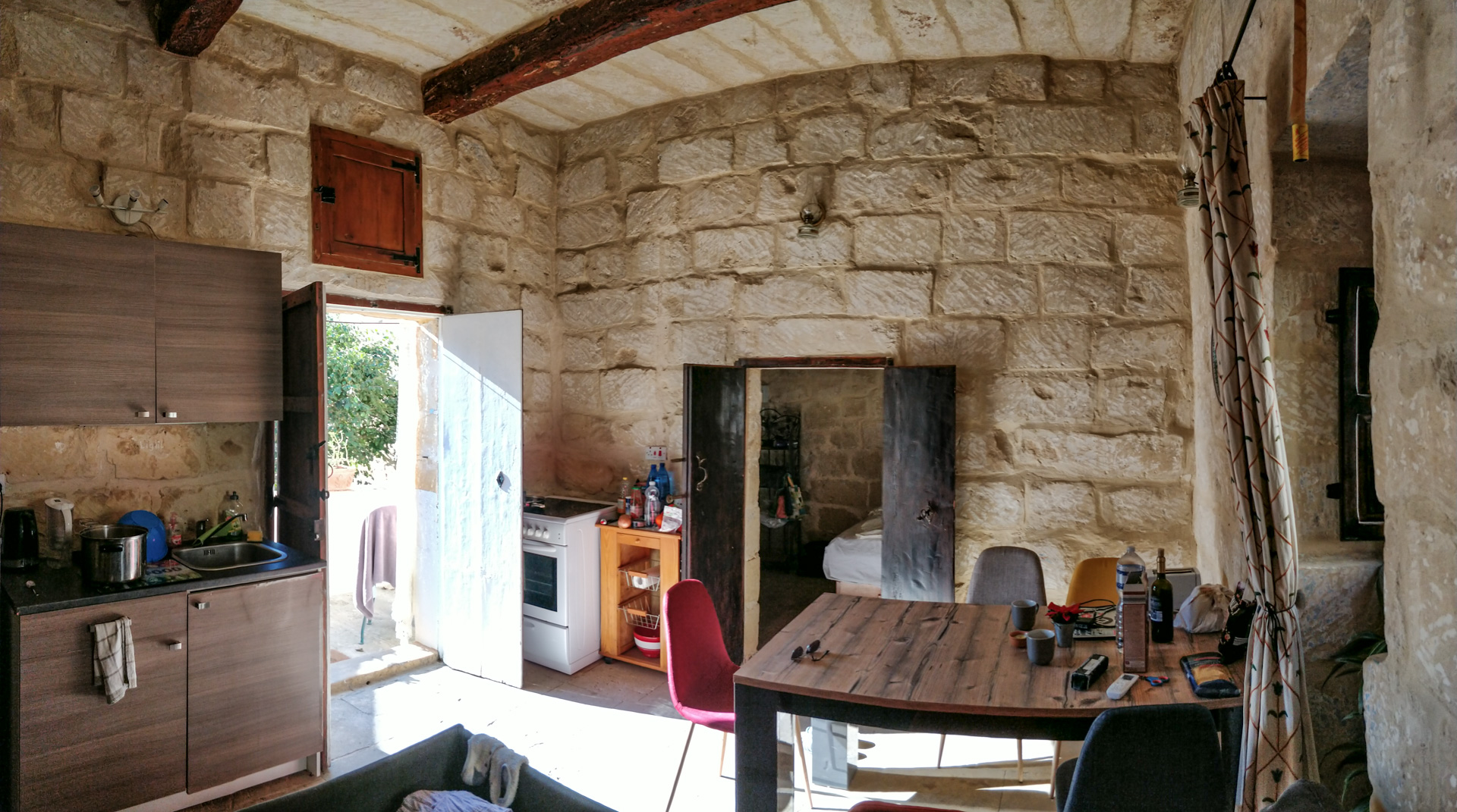 Inside our 300+ year old Maltese country house